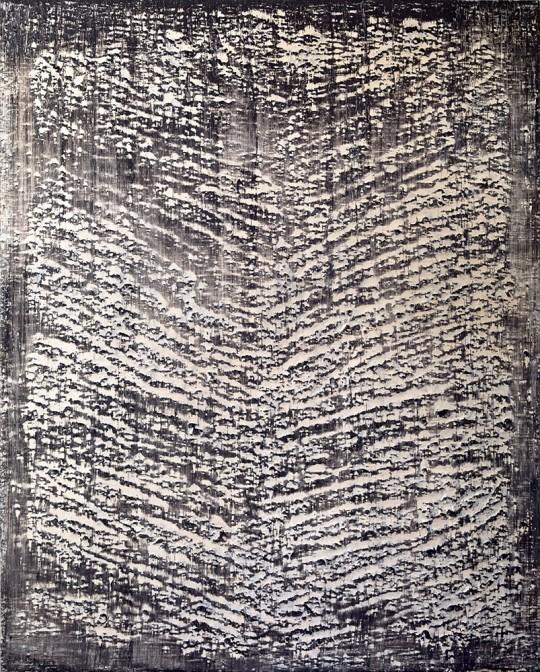 »o.T. (ehemals Tännchen)«, 2013, Öl auf Leinwand, 180 × 145 cm