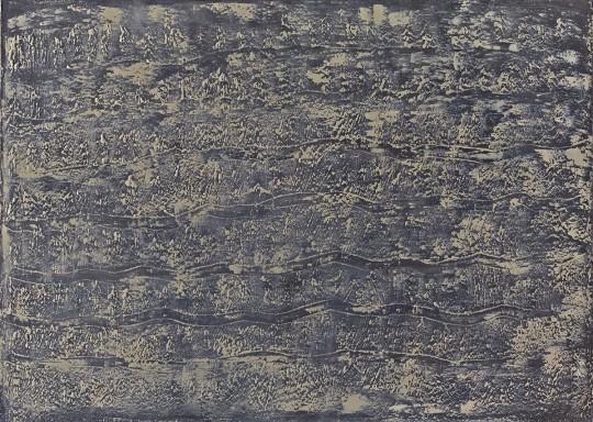 »Mondlicht«, 2012, Öl auf Leinwand, 160 × 210 cm