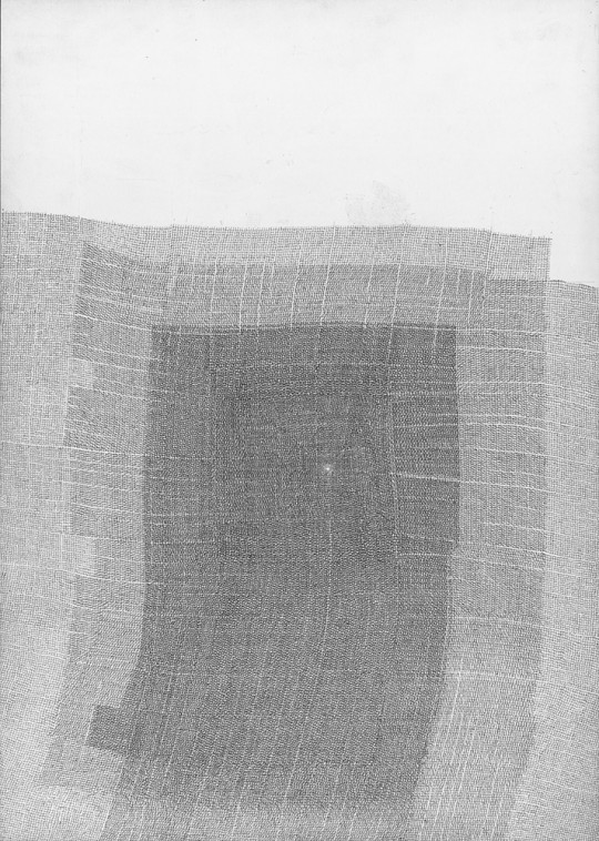 »Ohne Titel 3-2013«, 2013, Bleistift, 29,5 × 21 cm