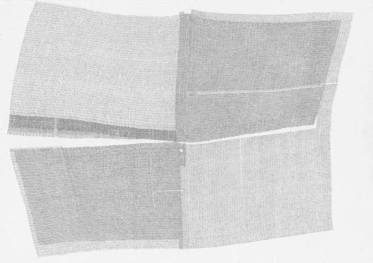 »Ohne Titel 20-2012«, 2012, Bleistift, 21 × 29,5 cm