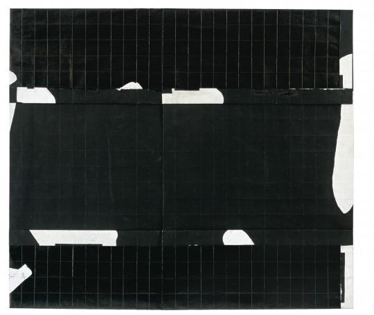 »o. T.«, 2011, Faltung, Tusche, Gouache, 52 × 59 cm
