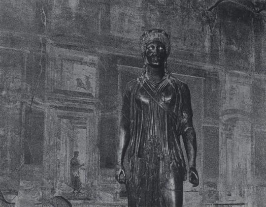 Blatt X der Folge »Italienische Capricci« · 2014 · 57 x 74 cm (Ausschnitt)