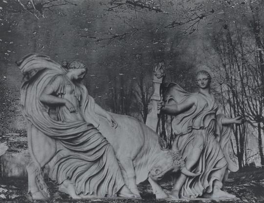 Blatt XI der Folge »Italienische Capricci« · 2014 · 56 x 73 cm (Ausschnitt)