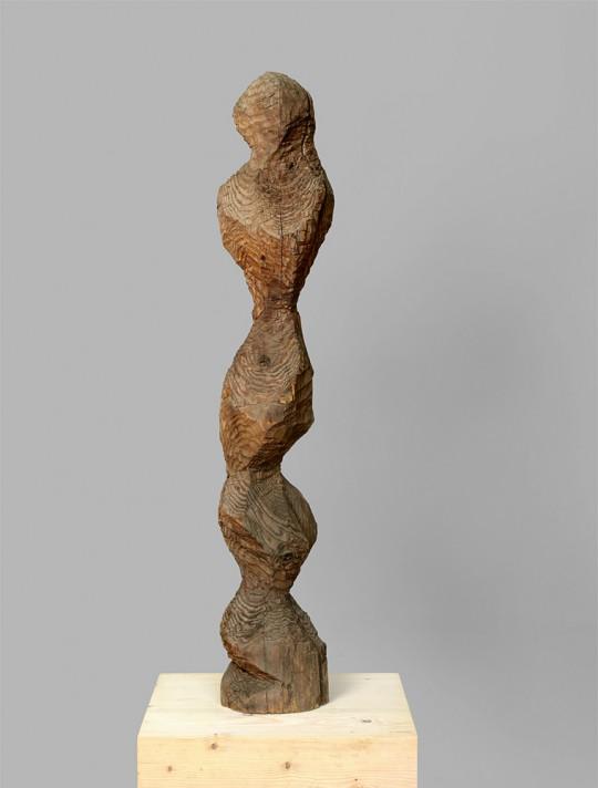 »Figur«, 1988/89, Lärche, 118 × 20 × 26 cm