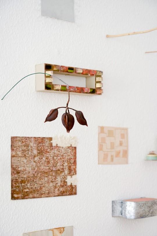 Atelierwand, 2016