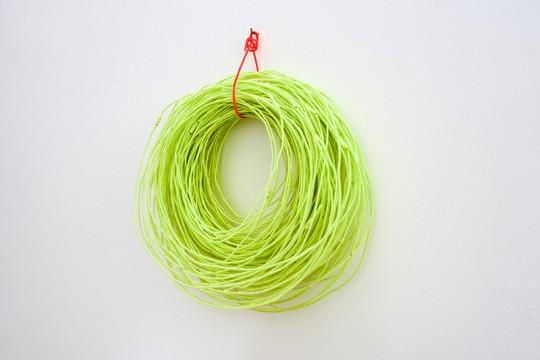 »Kurzstrecke«, 2012, Draht, Wolle, 42 × 37 × 19 cm