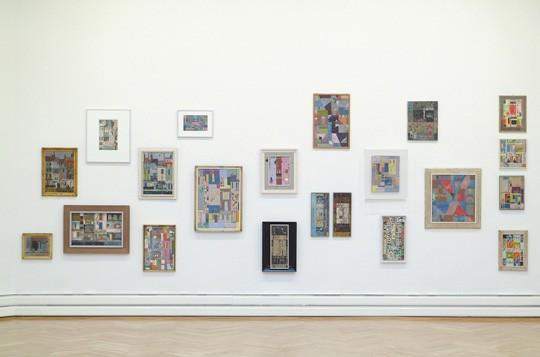 Ausstellung Albert Wigand (Ausschnitt im großen Saal)