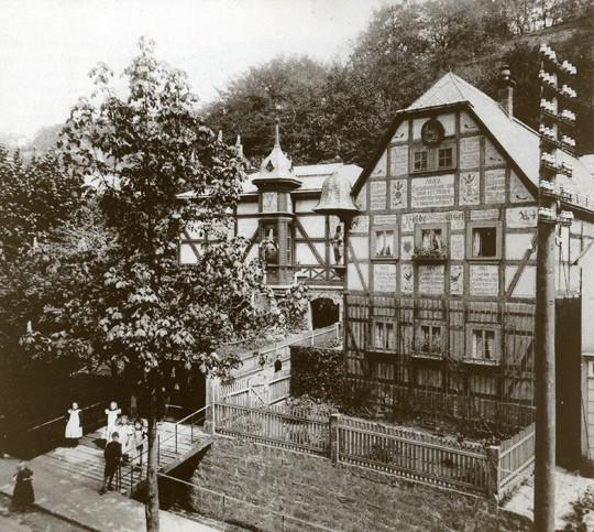 Das Leonhardi-Museum nach dem Umbau um 1910