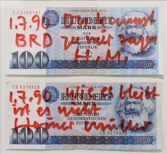 Heiner Müller, Ab heute darfst Du BRD zu mir sagen, 1990