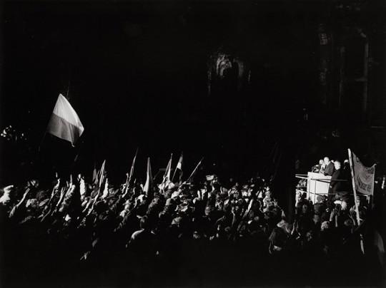 Bundeskanzler Kohl in Dresden, 19. Dezember 1989