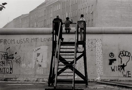 Blick über die Mauer, Westberlin, 1977
