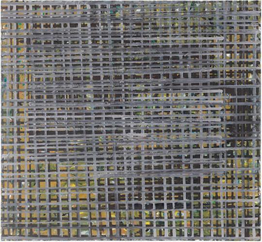 »Resonanz«, 2018, Ölfarbe/Leinwand, 140 × 150 cm